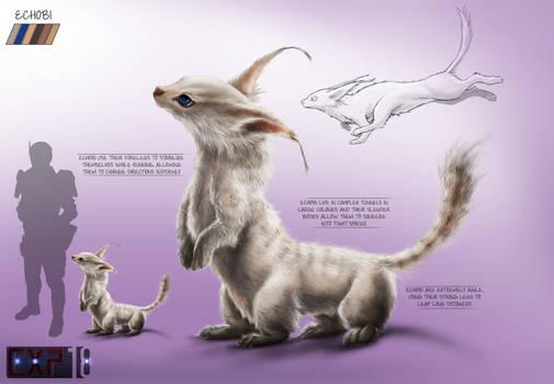 Echobi Creature Concept Sheet