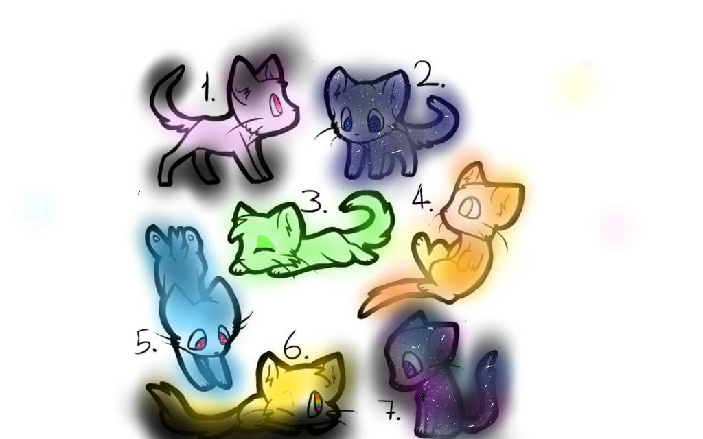 Some of my Best Cats by Aphmaufan6789