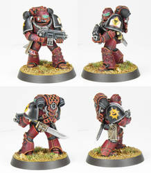 Horus Heresy Word Bearer - Commission by PrincipeFenice