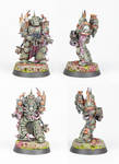 Death Guard Plague Marine #1 by PrincipeFenice
