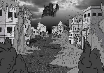 Coliseum Webcomic Preview 9: A Ruined Land by BrandonHill