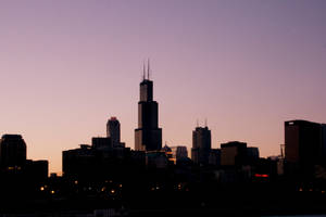 Chicago at Sunset by christianbranch