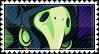 Shovel Knight - Plague Knight Stamp by ArtKino