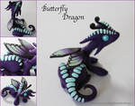 Polymer Clay Butterfly Dragon