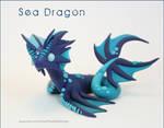 Polymer Clay Sea Dragon