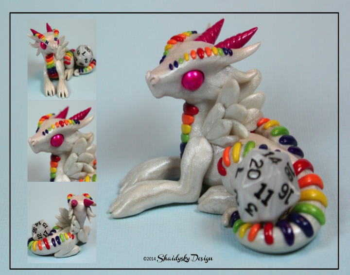 Rainbow Dragon by ShaidySkyDesign