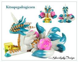 Kitsupegadragicorn!!? by ShaidySkyDesign