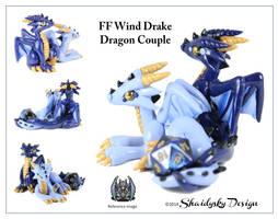 FF Wind Drake Dragon Couple by ShaidySkyDesign