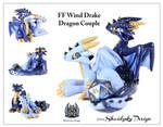 FF Wind Drake Dragon Couple