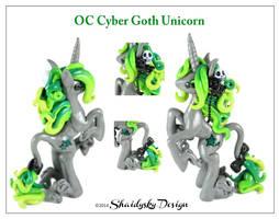 OC Cyber Goth Unicorn