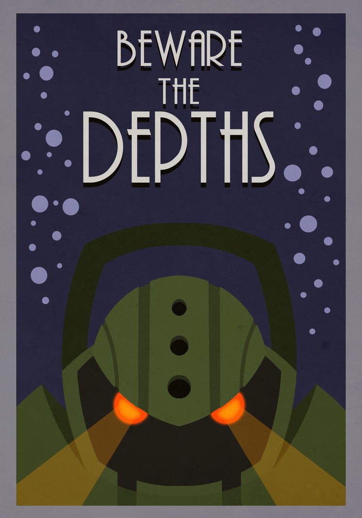 League of legends Nautilus - Beware the depths! by DHunterAtom