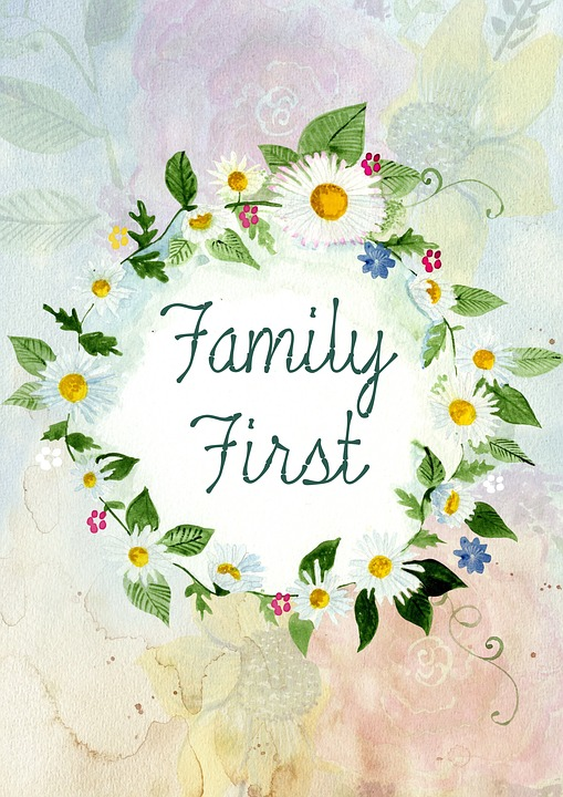 Family First by wordstolive