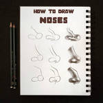 How to draw : Noses by Tessbrunet