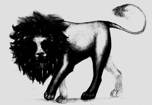 Darker lion