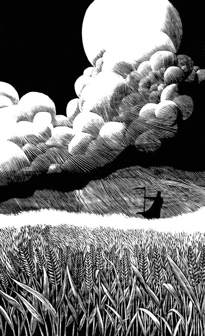 Death in a Field by thirdred