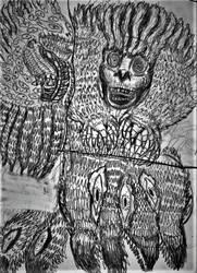 Demonic spirit sketches