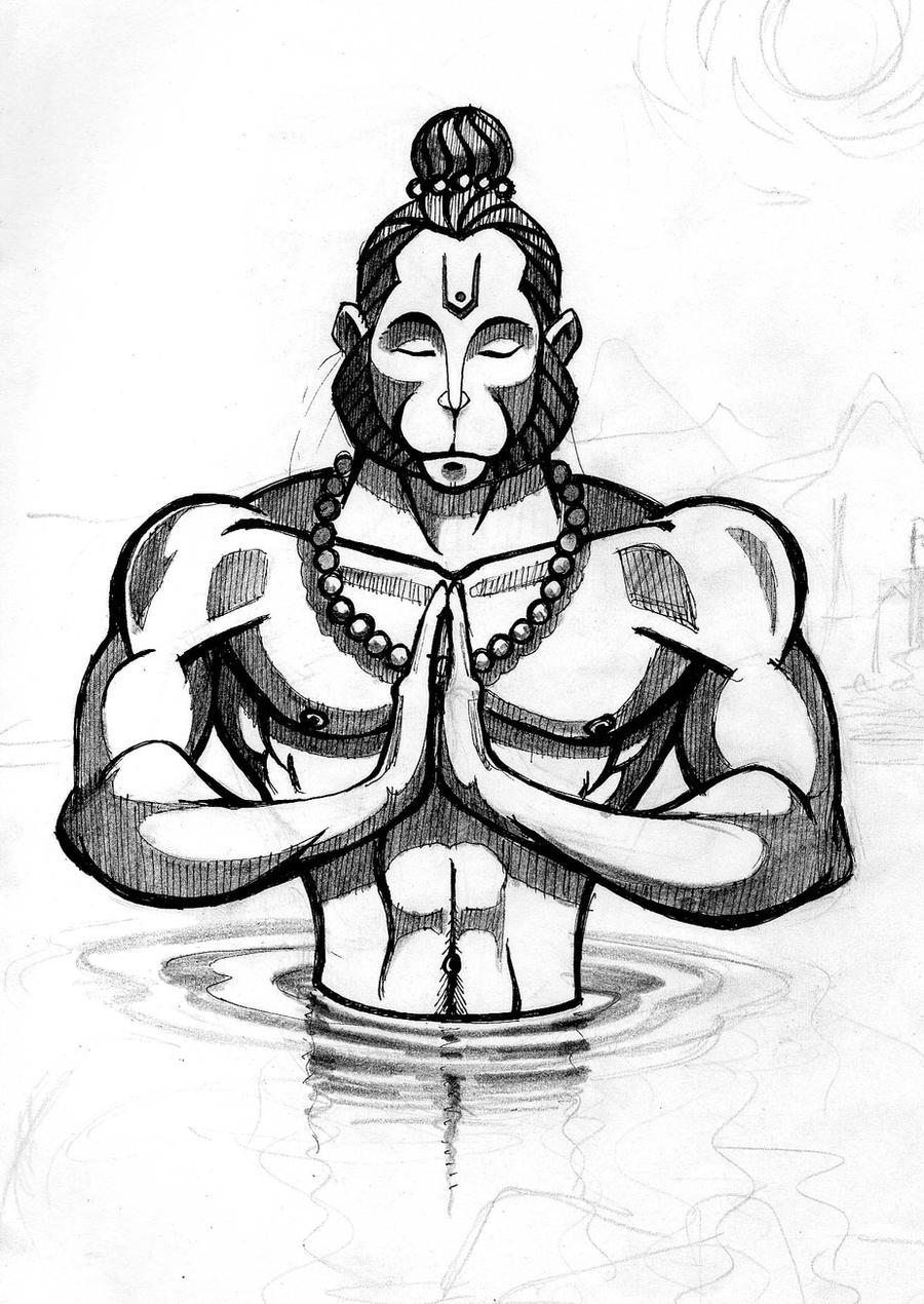 Hanuman by VRaam on DeviantArt
