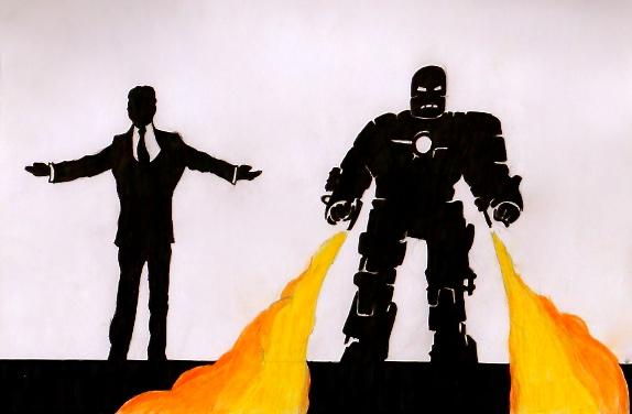 Iron Man by Philanthropic-Racoon