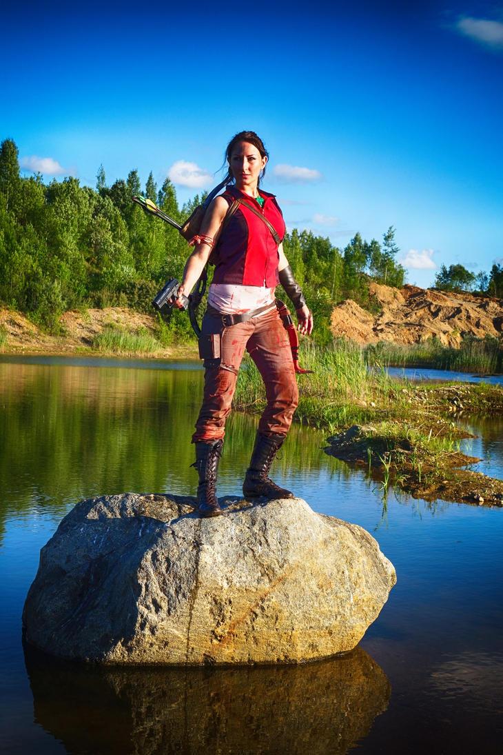 Lara Croft by Franc1ne