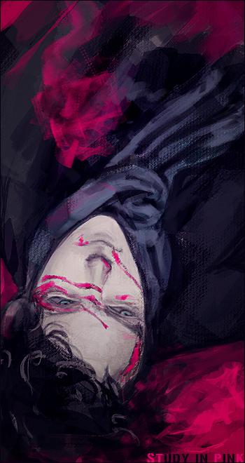 The Reichenbach Fall by bakeddeer