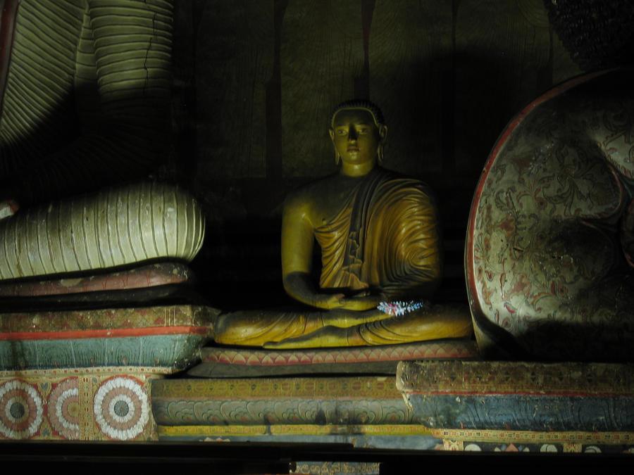 Dambulla  Cave Temple by FalseMaria