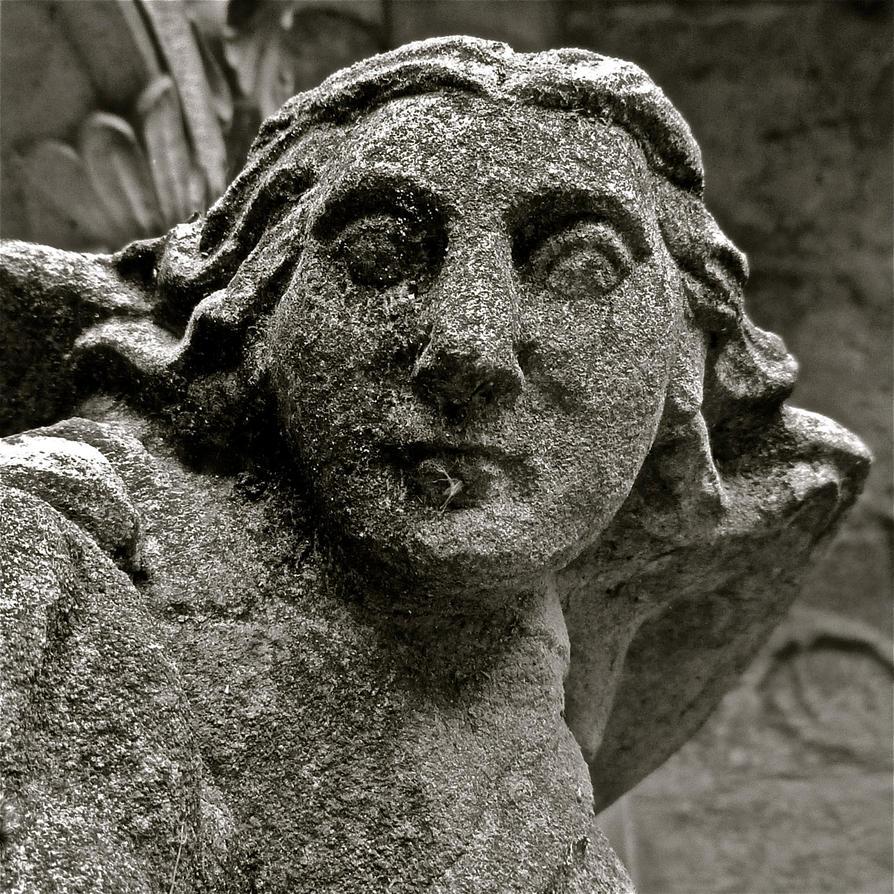 Petrified Angel by FalseMaria