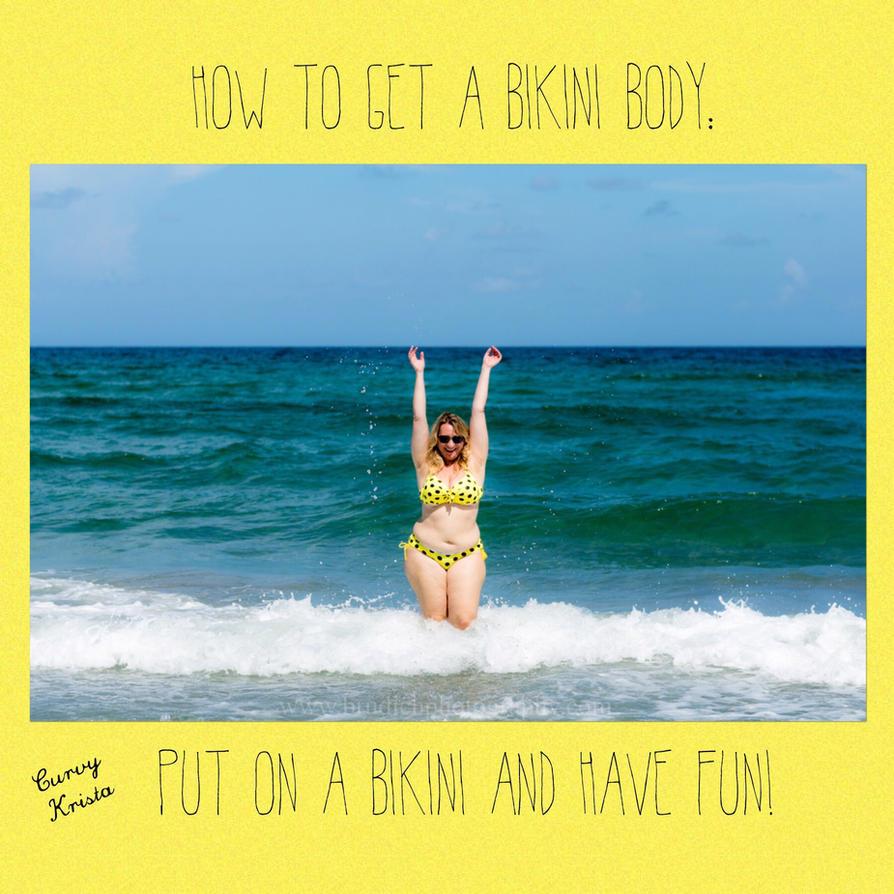 Bikini body  by CurvyKrista
