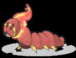 Demon Bug Pokemon by harikenn
