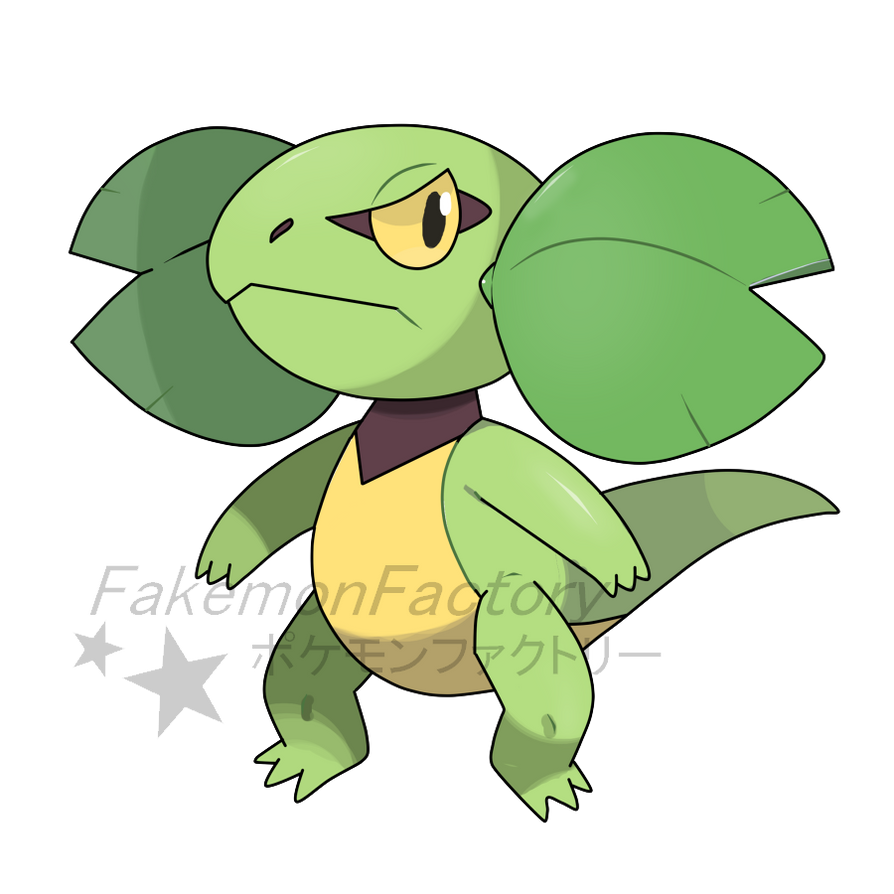 Clover Cheek Pokemon by harikenn