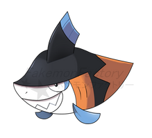 Razor Chomp Pokemon by harikenn
