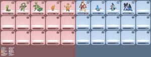 Pokemon RBIS SpriteDex