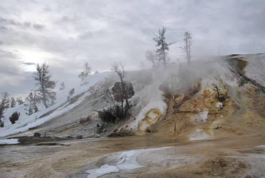 Misty sulfur