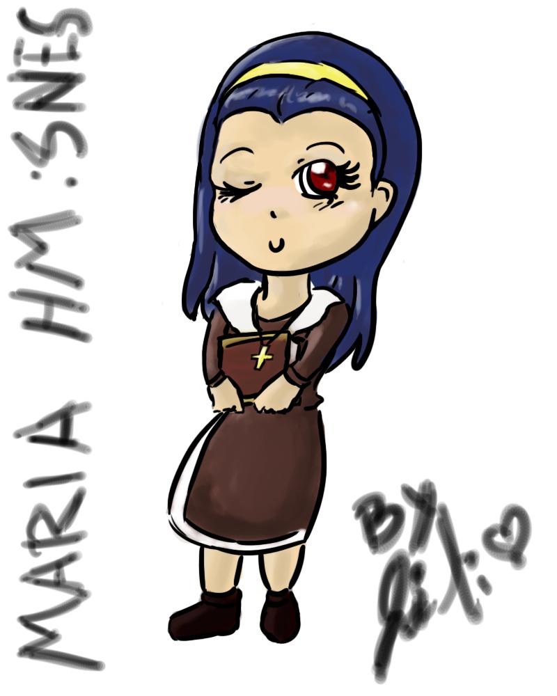 Harvest Moon SNES - Maria by Ji-Li on DeviantArt