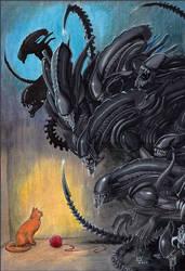 Cat-vs-Aliens by Zygot
