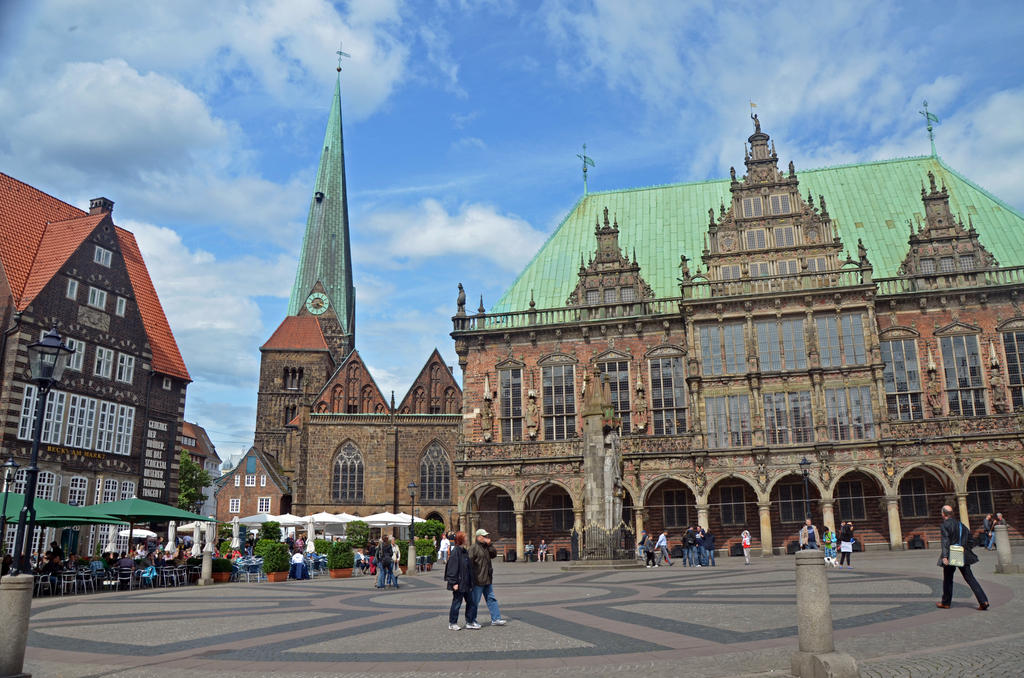 Bremen market square by irondoors on deviantart for Life fashion bremen