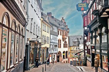 Reitgasse, Marburg by Irondoors