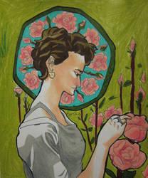 Rose garden by lingering-lunacy