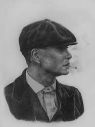 Portrait of Thomas Shelby