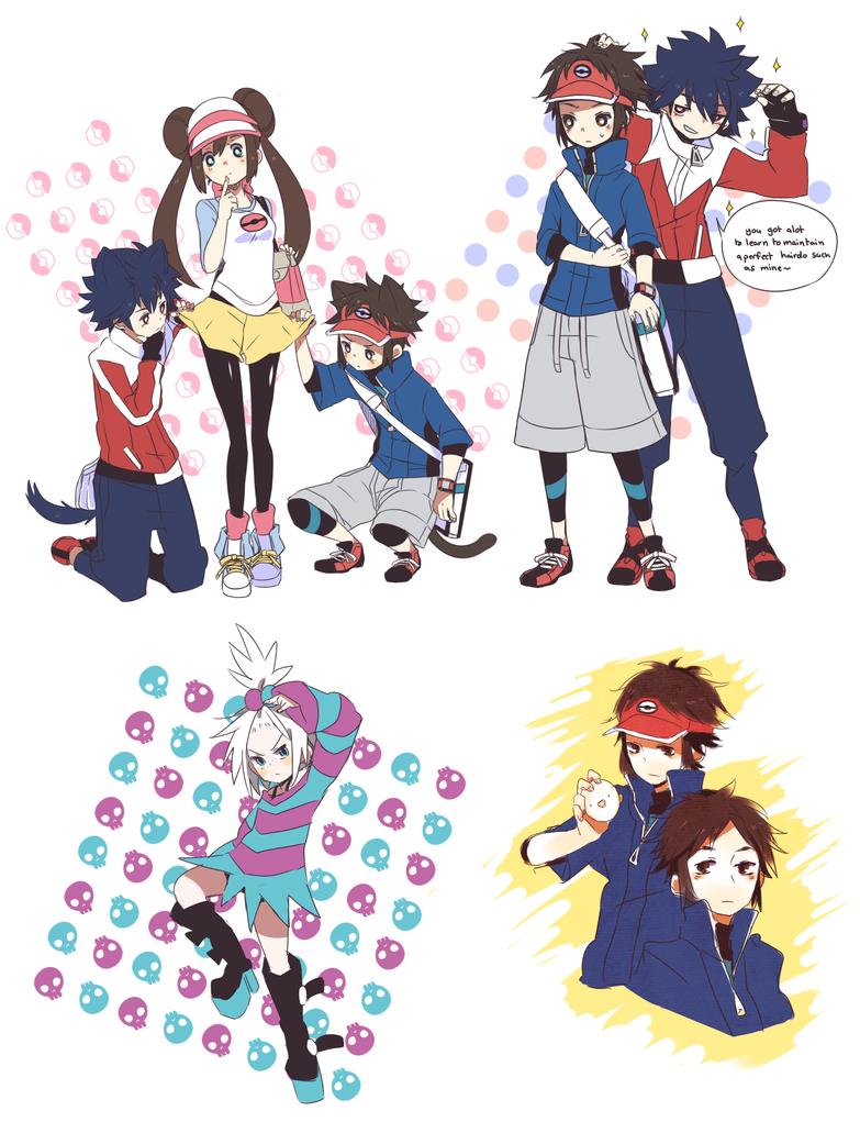 pokemon BW2 by WikiME