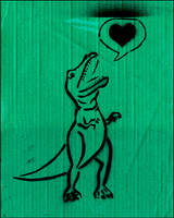 Love-O-Saurus by maria-in-motion