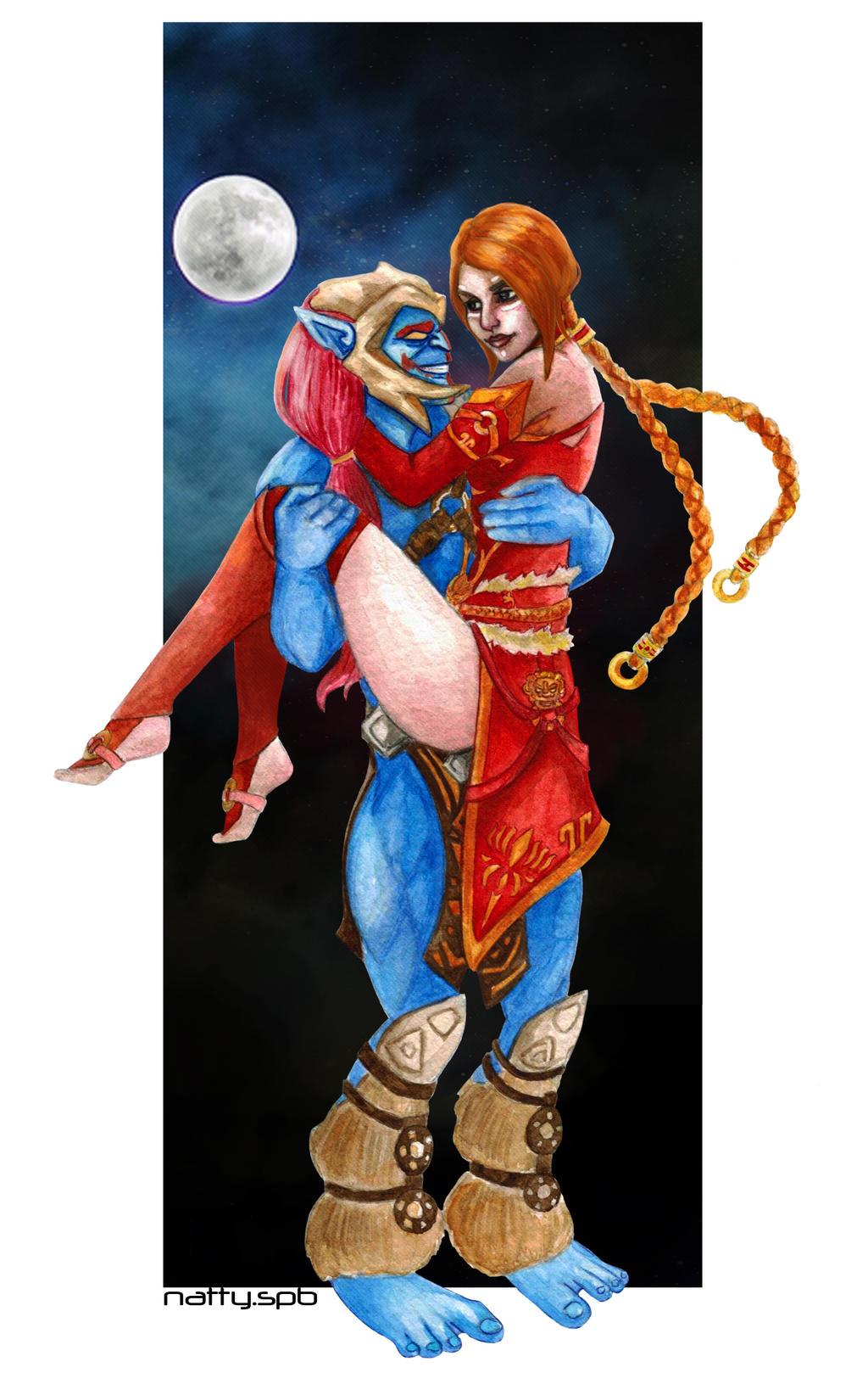 lina and huskar dota 2 by nattyspb on deviantart