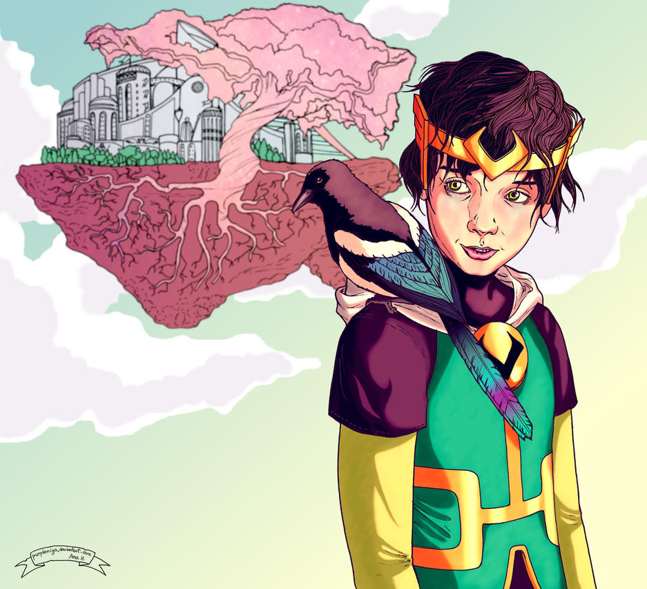 Journey Into Mystery by purpleniya