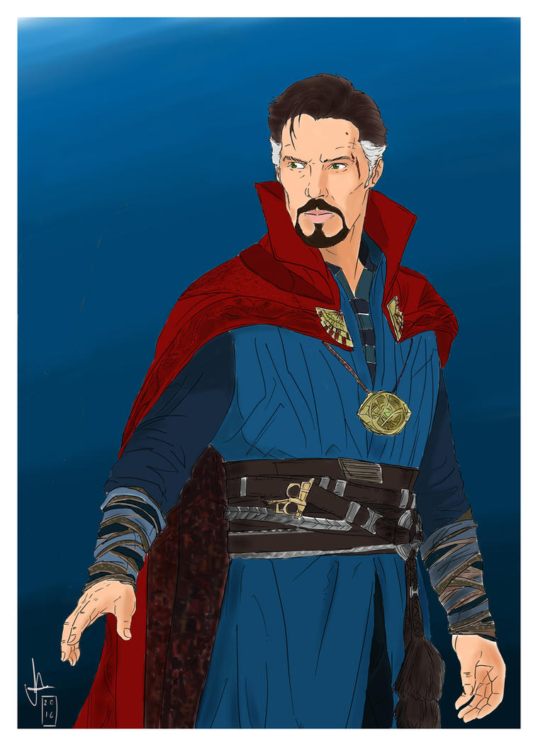 Doctor Strange by PaulosKiz
