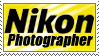 Nikon Photographer Stamp by BiOzZ