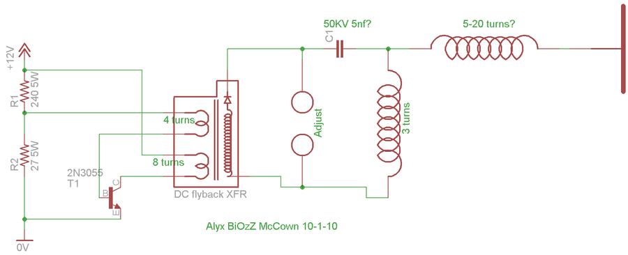 Emp Jammer Schema Elettrico Gratis : Emp jammer schematic diagram and circuits get free image