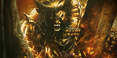 Beast in Rage by mw-Lionheart