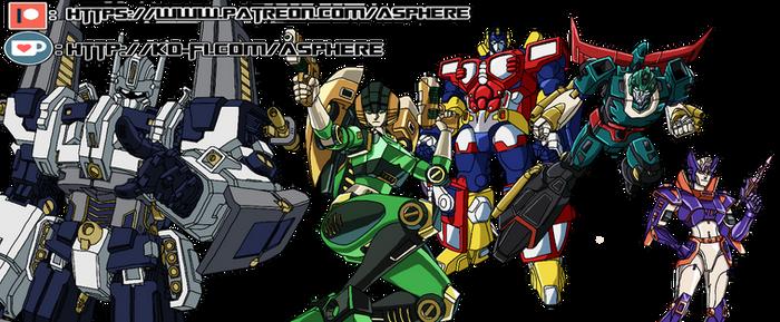 Plus Ultra Autobots (Read Desc.)