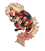 Arcanine by Aledles