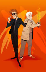 Good Omens by Aledles