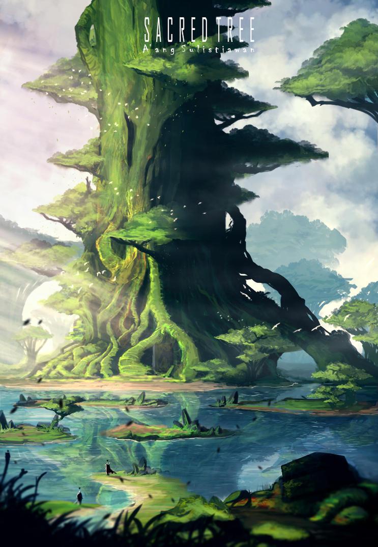 Sacred Tree by DaisukeOzora